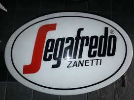 Cartel Segafredo