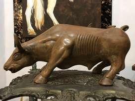 Toro de wall Street en bronce