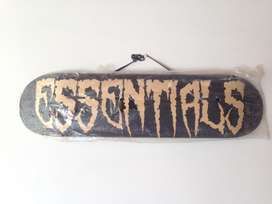 Tabla Madero de Skate Marca Essentials Skateboard Co Deportes Equipo Hobbies Patinetas