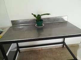 Góndola, Congelador Y Mesa en Acero Inox