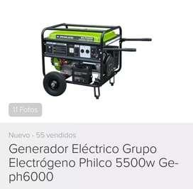 Generador eléctrico nuevo