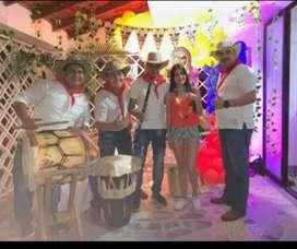 Show Tamboras y Papayeras