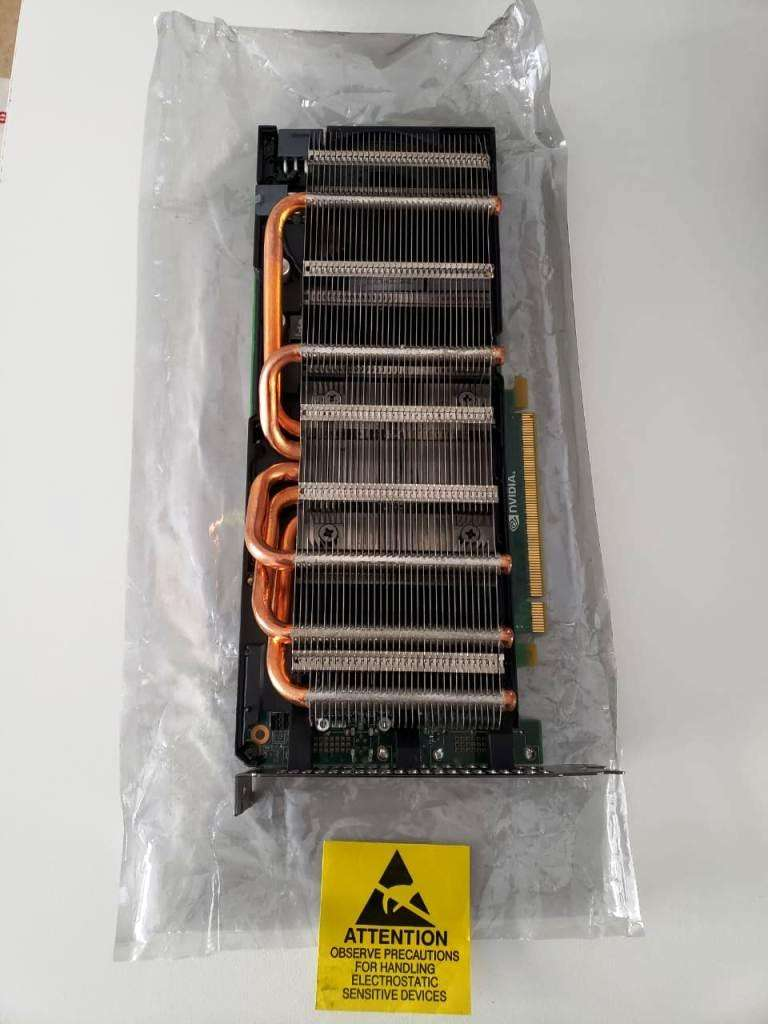 Nvidia Tesla M2070 6gb Gddr5 Pci-e 16x 2.0 Oportunidad. 0