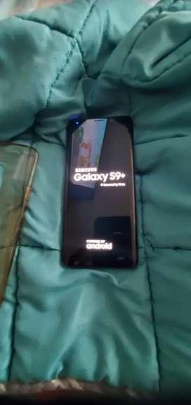 Samsung s9 PLUS procesador snapdragon 845  dual sim como nuevo siempre usado con mica de gel