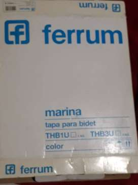 Tapa Bidet 3 Agujero Ferrum Marina Blanco Herrajes Metálicos