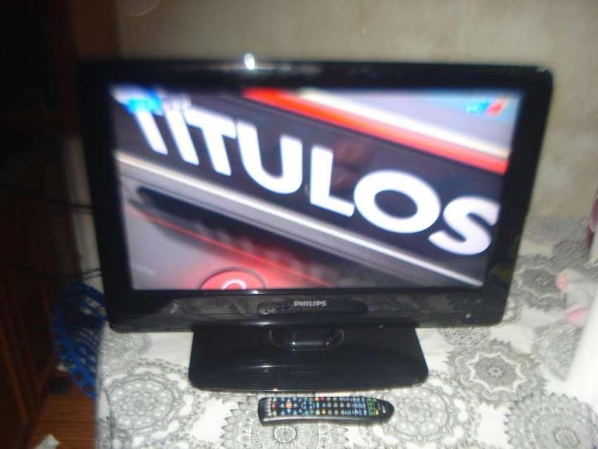 Televisor Color Tv 26 Lcd Philips C/ctrl Rem Flamante Estado