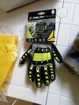 Botas de seguridad guantes de impacto