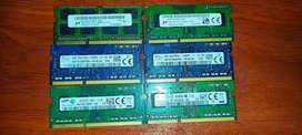Memoria Ram ddr3 de 4gb Pc3L Laptop
