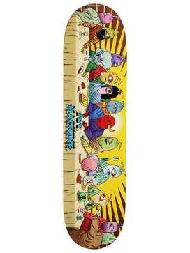 Tabla Madero de Skate Skateboard Patineta Equipamiento Toy Machine Last Supper Deck