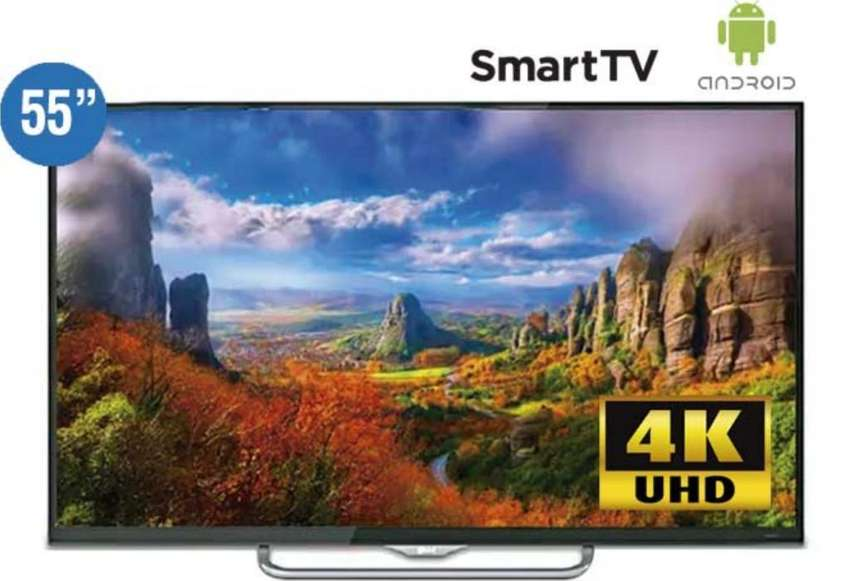 Tv Smart Global 4k Android 55 Nuevos 0