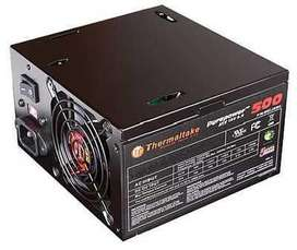 Fuente Thermaltake 500W reales