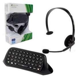 Chat Pad Xbox 360 Live Teclado + Diadema. Compra en nuevo y seguro en Korolos !