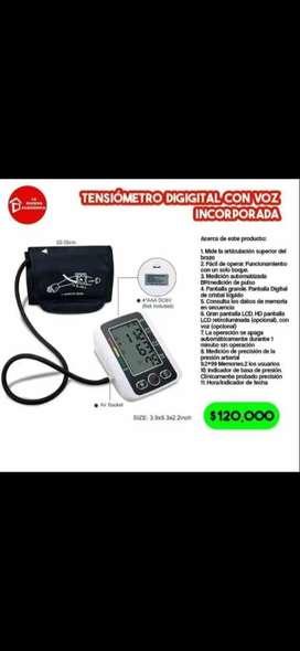 Tensiometro digital con voz incorporada