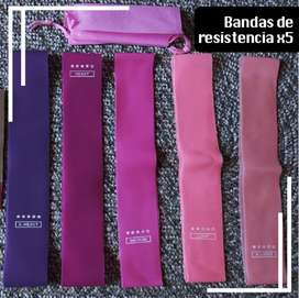 bandas elasticas rosadas (envio gratis en Medellin depende de la zona)