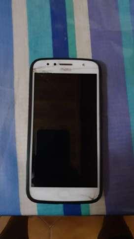 Moto G5S plus, pantalla trizada