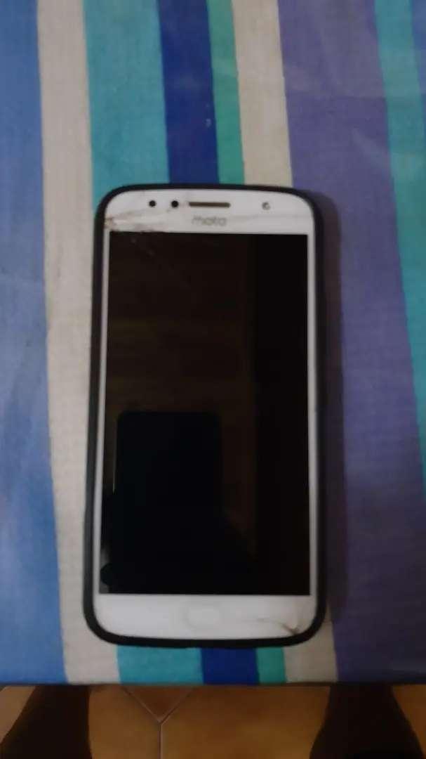 Moto G5S plus, pantalla trizada 0