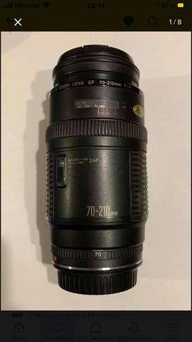 Lente Canon Ef 70-210 F:4