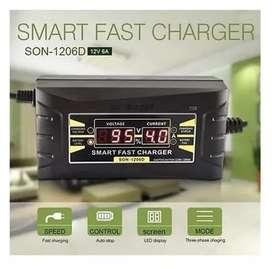 Cargador Automatico Baterias De Carro 12v 6a