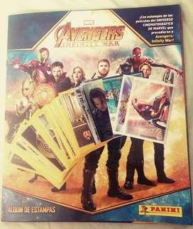 Album Avenger Infinity War Panini