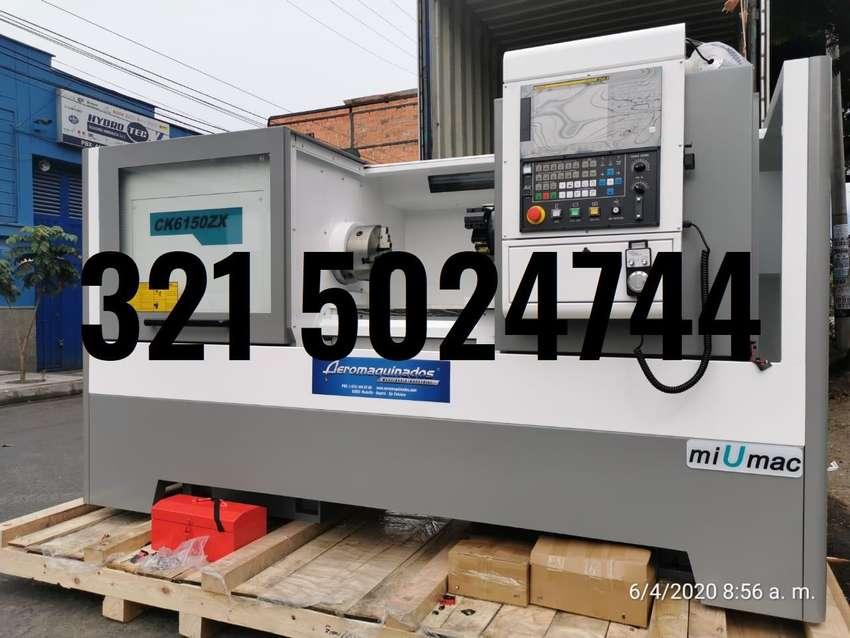 TORNO CNC 500X1000 - CONTROL FANUC 0