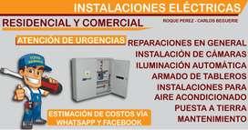 Electricista Roque Pérez Residencial y comercial