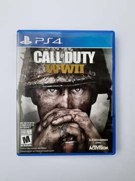 Call of duty WWII para ps4