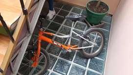 """Bici para niño rin 16"""""""