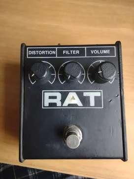 Pedal de guitarra distortion pro Co Rat