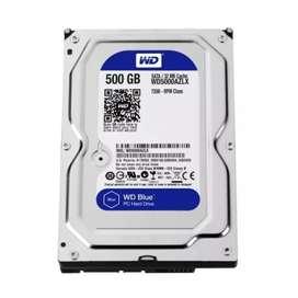 Oferta disco duro 500 gb sata con factura legal y garantía