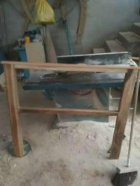 Cortadora de madera metalica
