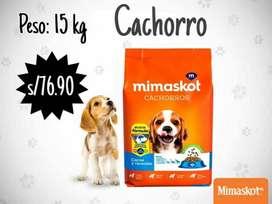 Mimaskot cachorros x 15 kg