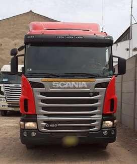 REMOLCADOR SCANIA G420 6X4 DEL AÑO 2011 SEMINUEVOS DIVEMOTOR