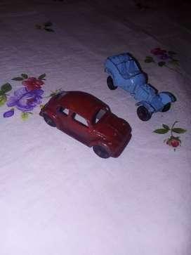 Carritos miniatura antiguos