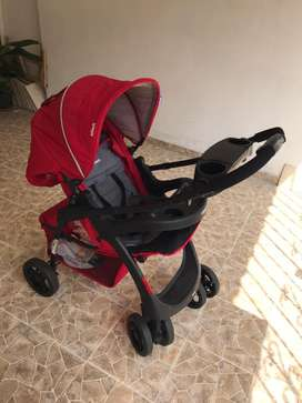 Coche reversible travel sistem infanti