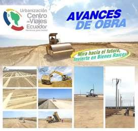 Terrenos en venta en la urbanizacion centro de viajes ecuador santa elena