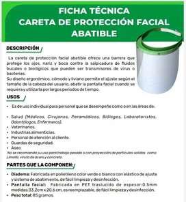 Caretas protección facial