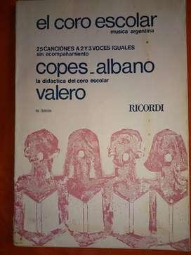 EL CORO ESCOLAR     MUSICA ARGENTINA