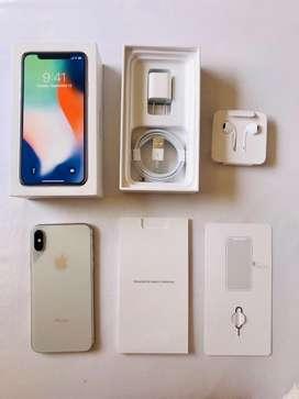 Iphone X 256gb Silver (Usado)