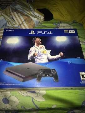 Play Station 4 Slim de 1tb (Edición FIFA 18)