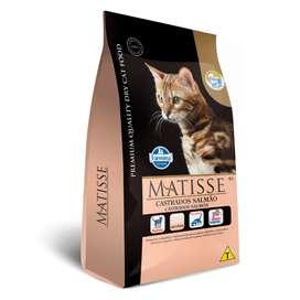 Alimento Matisse Salmón gatos Adultos Castrados