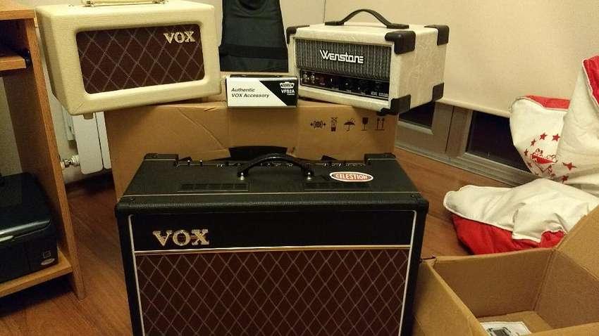 Amplificador Valvular Vox Ac15c1 0