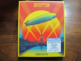 Led Zeppelin ‎- Celebration Day - BluRay + 2xCD