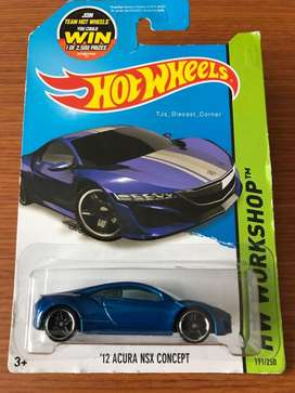 Hot Wheels Honda Acura NSX CONCEPT 12