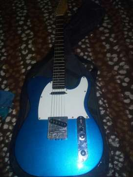 Guitarra Telecaster.