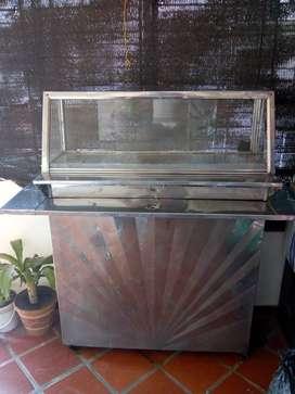 Calentador vitrina a gas, barato poco uso