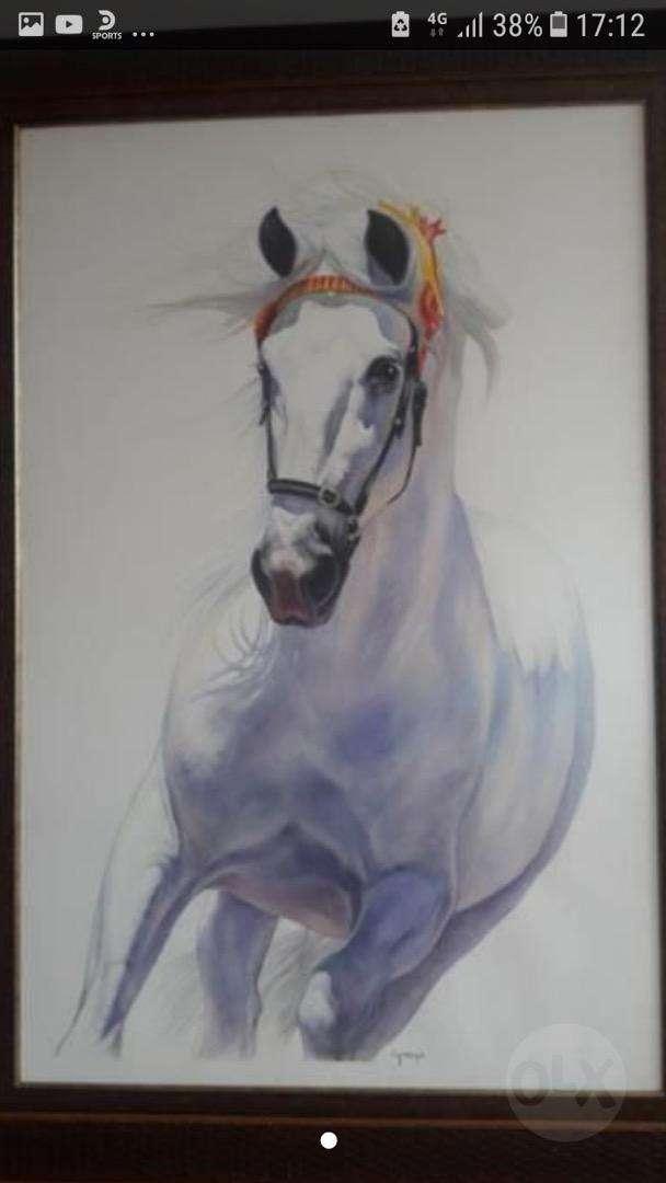 Cuadro de caballo de GIORGIO precioso 0