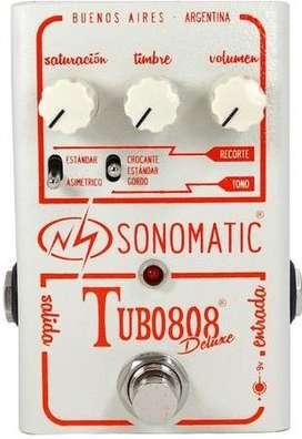 Pedal Sonomatic Tubo 808 Deluxe Od