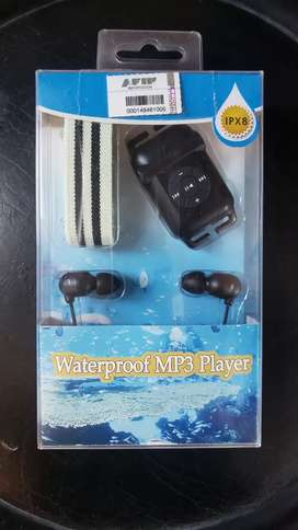 Auriculares natacion waterproof mp3 player nuevos $3200