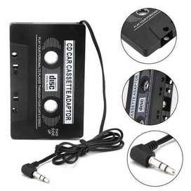 Cassette Adaptador Mp3 Ipod Celular Auto Stereo Autoestereo