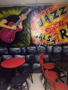 Espectacular y Hermoso Cafe-Bar